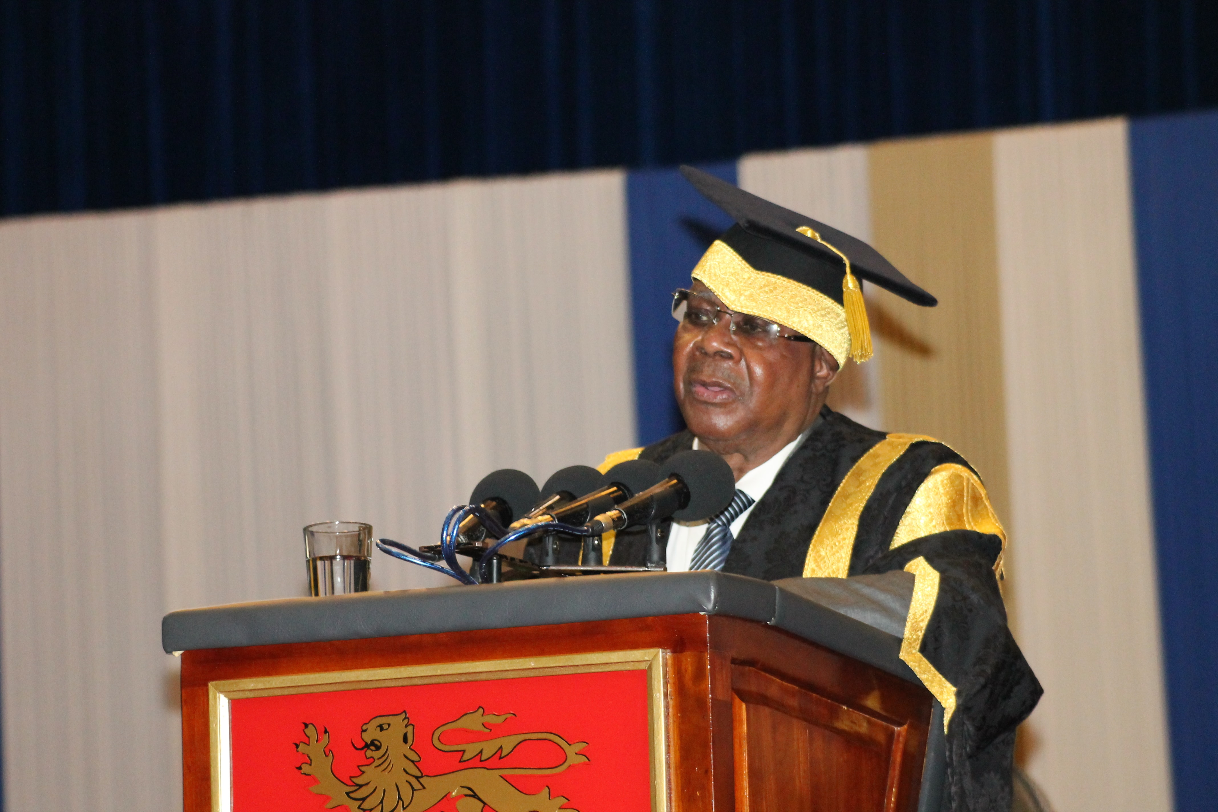 SPEECH BY THE CHANCELLOR OF UNIMA ON 14TH NOVEMBER, 2018 AT THE GRADUATION CEREMONYY