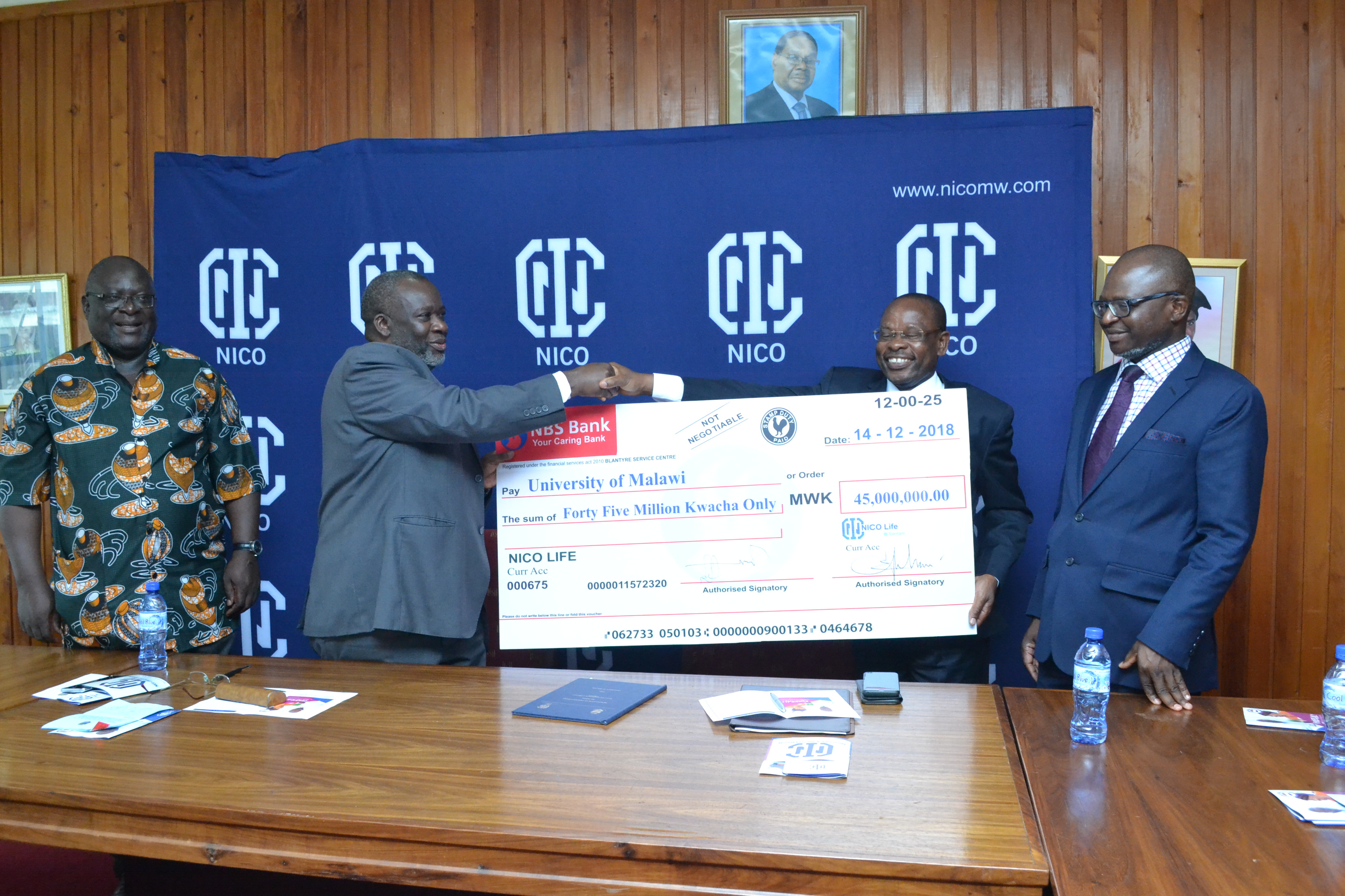 UNIMA SECURES A K45 MILLION SCHOLARSHIP FOR NEEDY STUDENTS