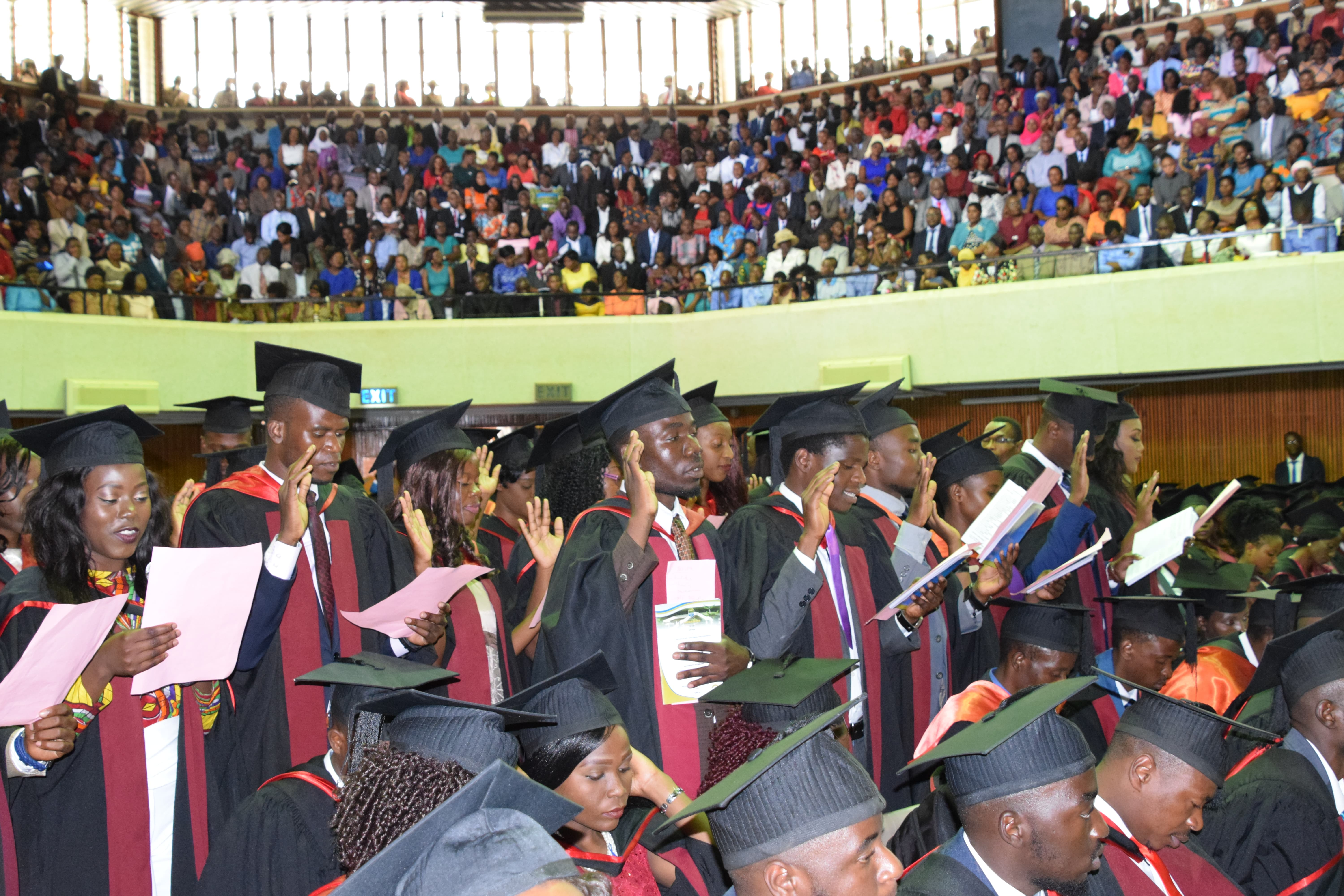 UNIVERSITY OF MALAWI CONGREGATION FOR 2016/2017 GRADUANDS