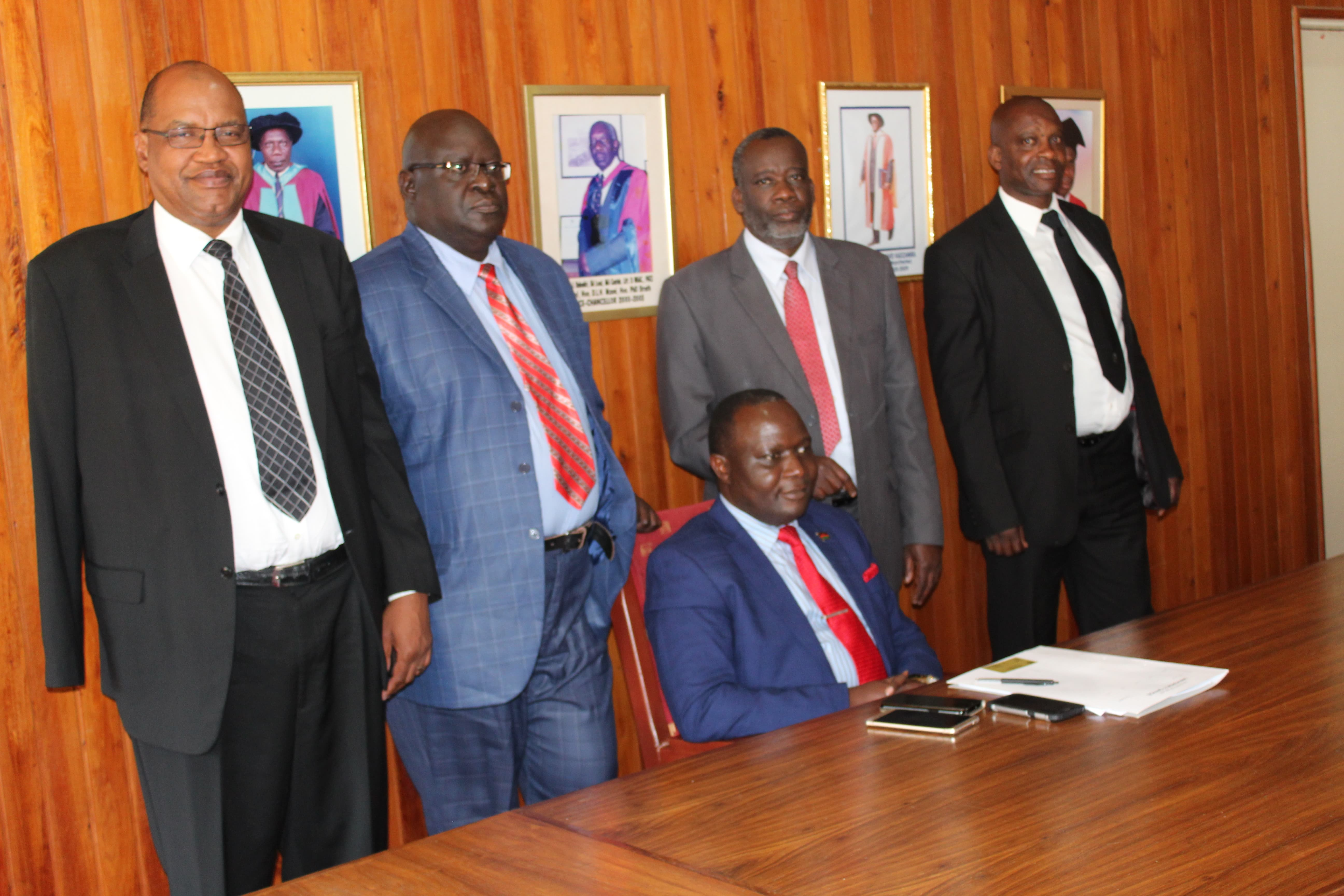 NEW COUNCIL CHAIRPERSON MEETS UNIMA LEADERSHIP